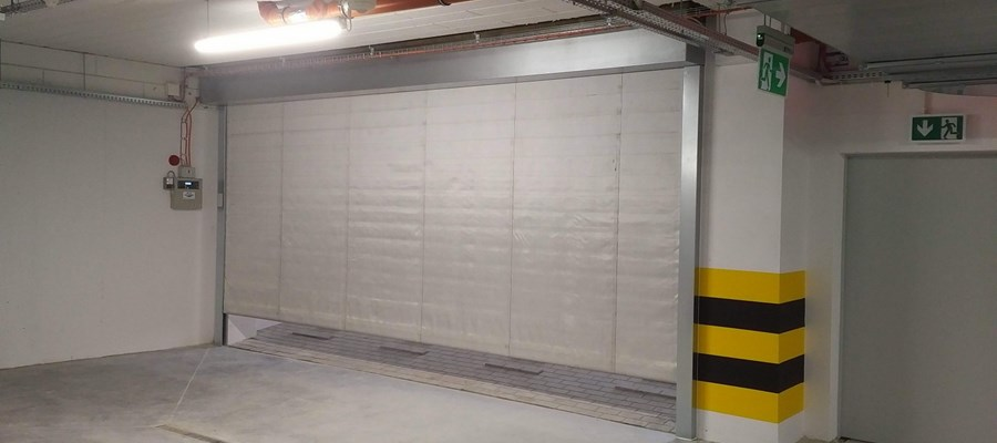 Alux Fire Curtain MARC Fire 5000 - Fire Protection